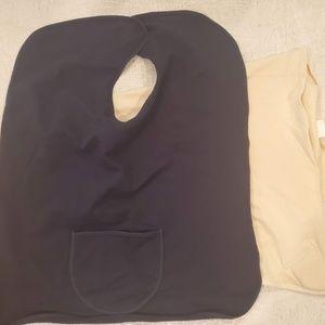 Set of two nursing cover-ups
